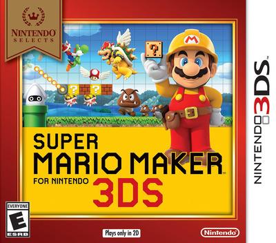 Super Mario Maker for Nintendo 3DS 3DS coverMB (AJHE)