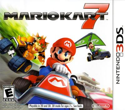 Mario Kart 7 3DS coverMB (AMKE)