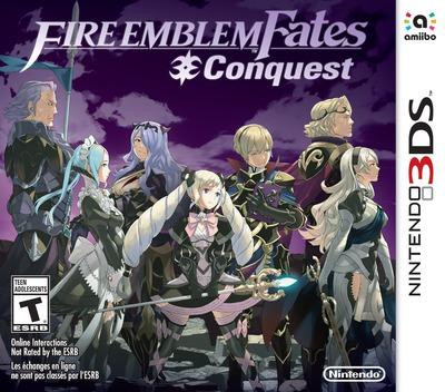 Fire Emblem Fates - Conquest 3DS coverMB (BFYE)