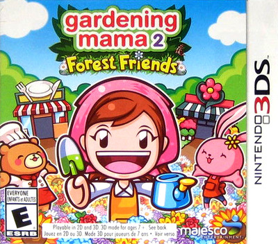 Gardening Mama 2 - Forest Friends 3DS coverMB (BGME)
