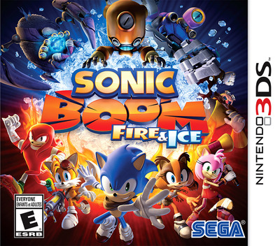 Sonic Boom: Fire & Ice 3DS coverMB (BS6E)