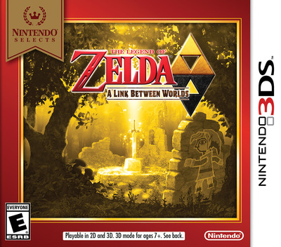 The Legend of Zelda - A Link Between Worlds 3DS coverMB (BZLE)
