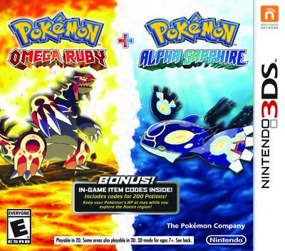 Pokémon Alpha Sapphire 3DS coverMB (ECLE)