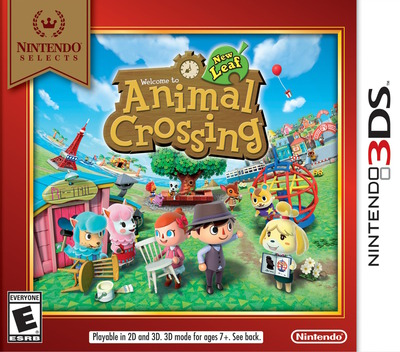 Animal Crossing - New Leaf 3DS coverMB (EGDE)