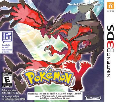 Pokémon Y 3DS coverMB2 (EK2A)