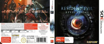 Resident Evil - Revelations 3DS cover (ABRP)