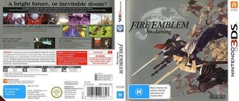 Fire Emblem - Awakening 3DS cover (AFEP)