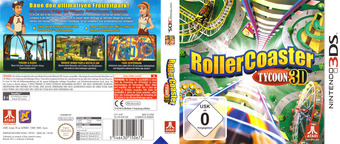 RollerCoaster Tycoon 3D 3DS cover (AC8P)