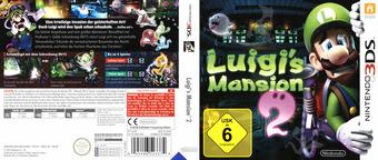 Luigi's Mansion 2 3DS cover (AGGP)