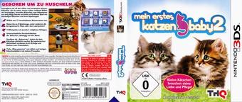 Meine ersten Katzenbabys 2 3DS cover (AP6P)
