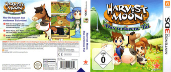Harvest Moon 3D - The Lost Valley 3DS cover (AVMP)