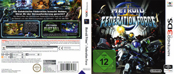 Metroid Prime: Federation Force 3DS cover (BCAP)
