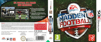 Madden NFL Football 3DS cover (AMDP)
