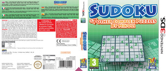 Sudoku + 7 Other Complex Puzzles by Nikoli 3DS cover (ANQP)