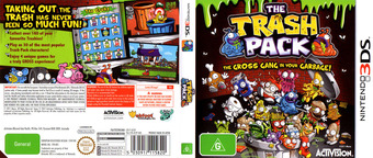 The Trash Pack 3DS cover (ATZP)