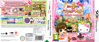 Hello Kitty and the Apron of Magic - Rhythm Cooking 3DS cover (BHKP)