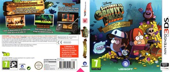 Gravity Falls - Legend of the Gnome Gemulets pochette 3DS (AGFP)