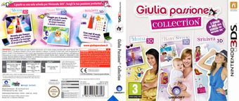 Giulia passione collection 3DS cover (BCLP)