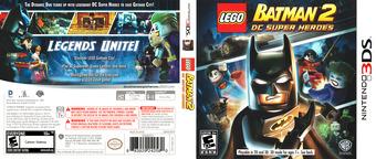 LEGO Batman 2 - DC Super Heroes 3DS cover (ALBE)