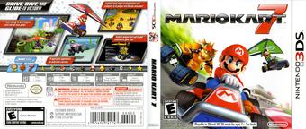 Mario Kart 7 3DS cover (AMKE)