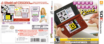 Crosswords Plus 3DS cover (AQ8E)