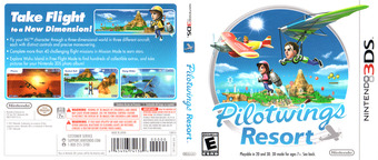 Pilotwings Resort 3DS cover (AWAE)