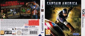 Captain America - Super Soldier 3DS cover (ACAP)