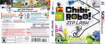 Chibi-Robo! Zip Lash 3DS cover (BXLE)