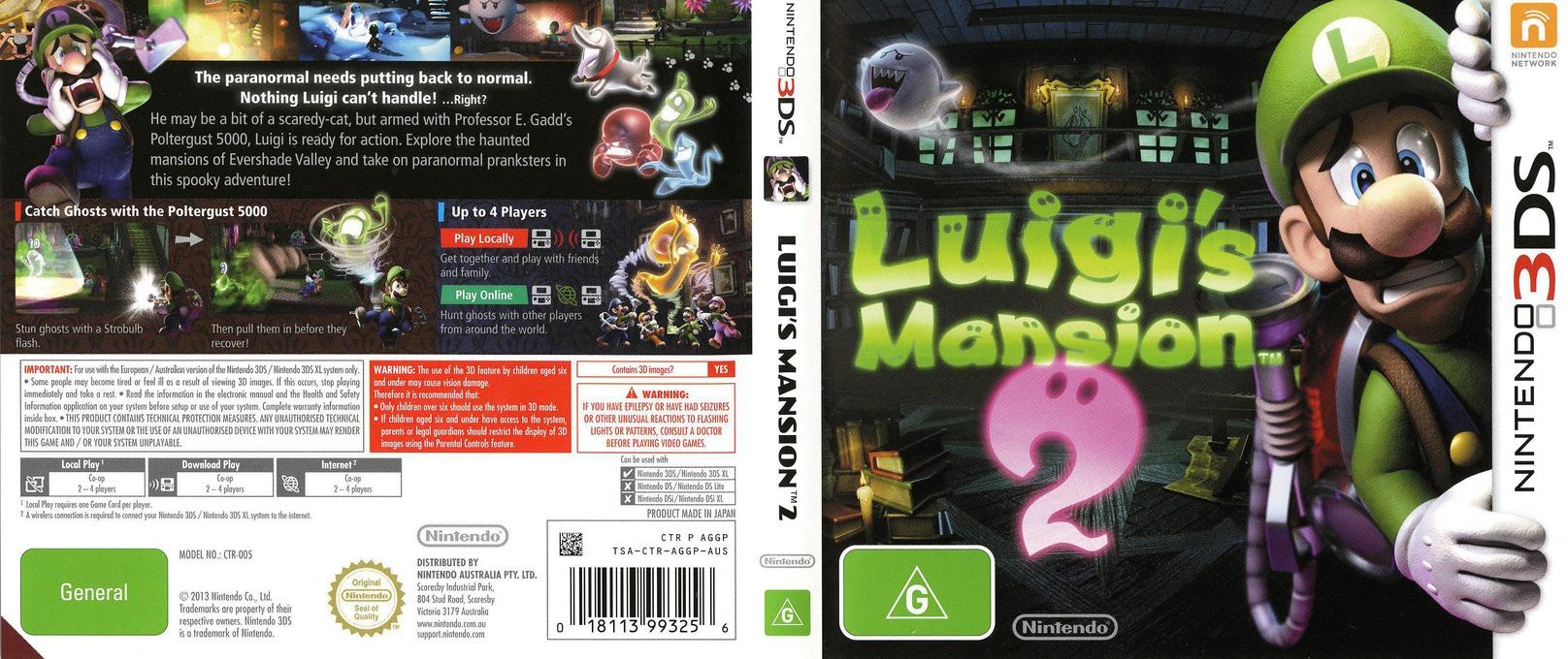 Luigi's Mansion 2 3DS coverfullHQ (AGGP)