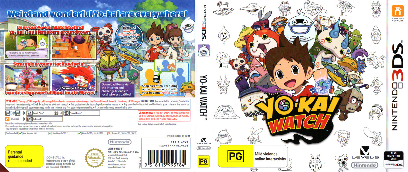 Yo-Kai Watch 3DS coverfullHQ (AYWZ)