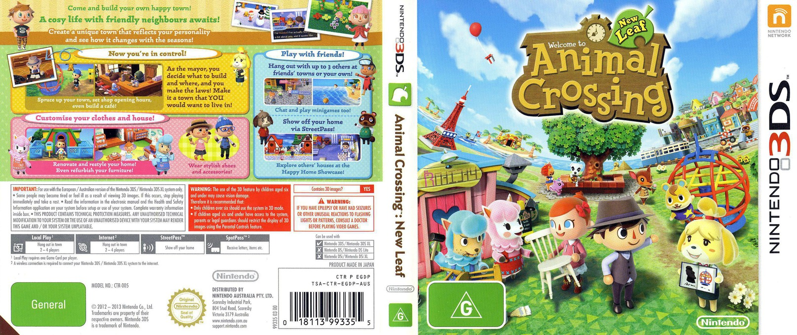 Animal Crossing - New Leaf 3DS coverfullHQ (EGDP)
