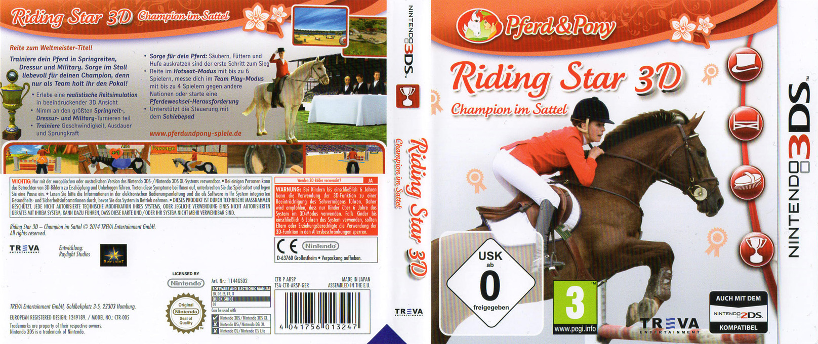 Riding Star 3D - Champion im Sattel 3DS coverfullHQ (ARSP)