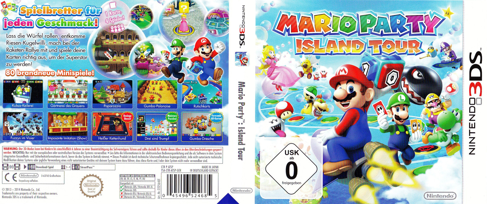 Is Mario Party Island Tour Online