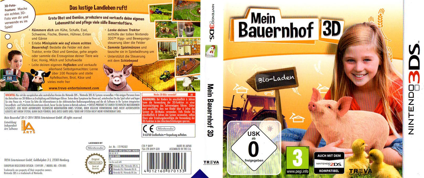 Mein Bauernhof 3D 3DS coverfullHQ (BHFP)