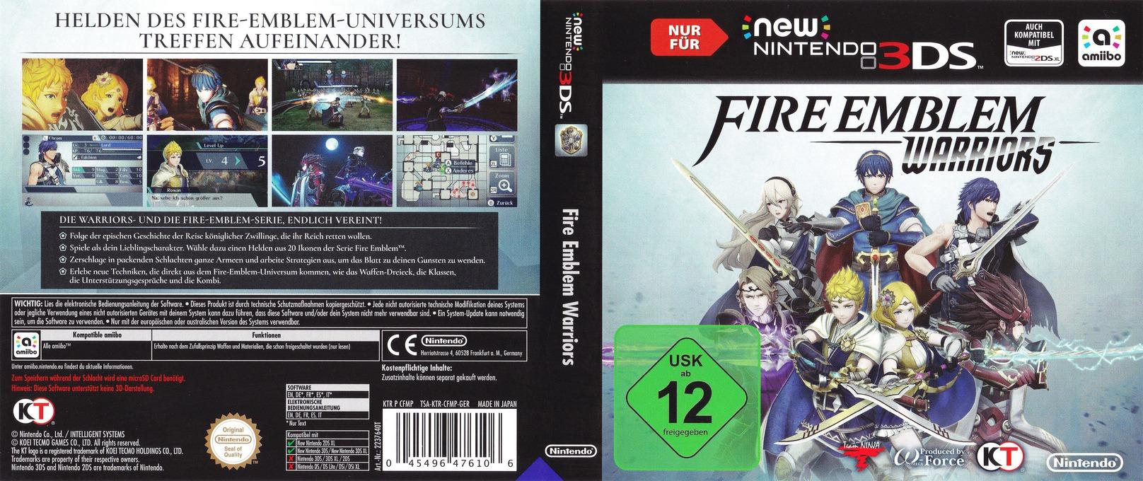 Fire Emblem Warriors 3DS coverfullHQ (CFMP)