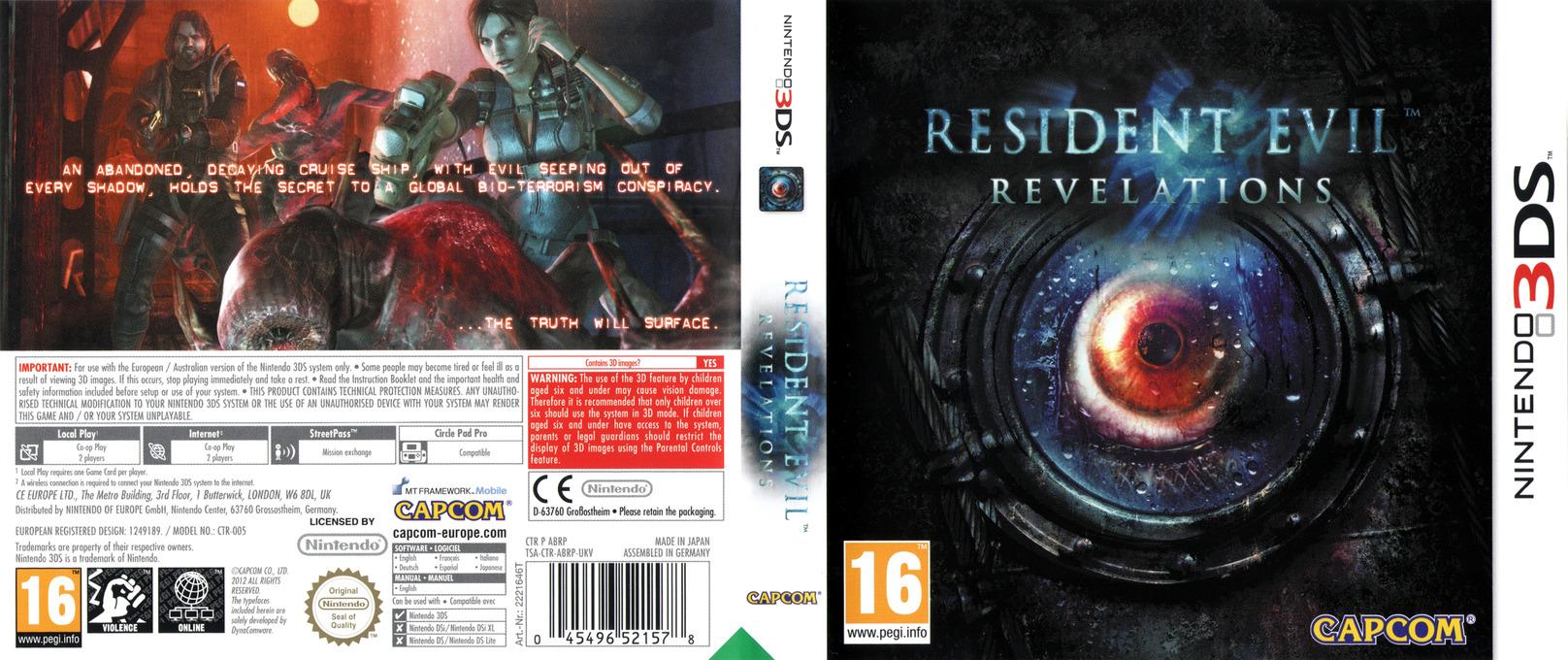 Resident Evil - Revelations 3DS coverfullHQ (ABRP)