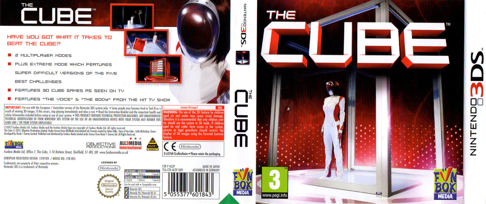 The Cube 3DS coverfullHQ (ACZP)