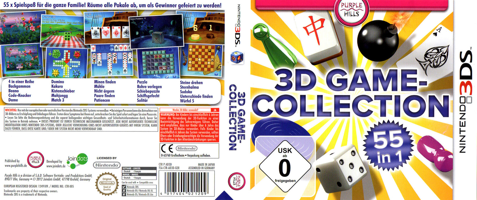 AD3D - 3D Game Collection - 55 in 1