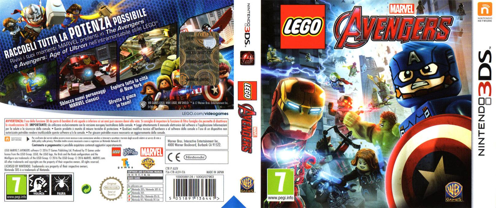 LEGO Marvel's Avengers 3DS coverfullHQ (ALEV)