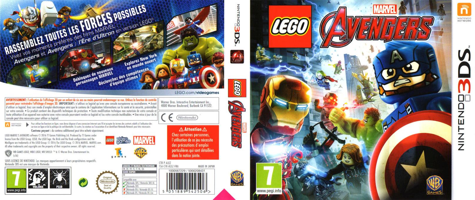 LEGO Marvel's Avengers 3DS coverfullHQ (ALEZ)