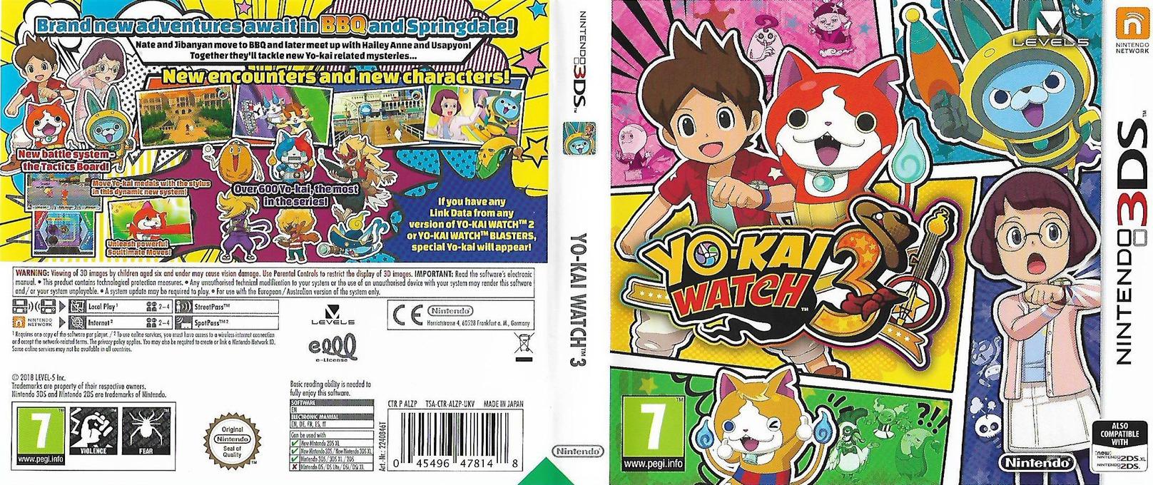 Yo-Kai Watch 3 3DS coverfullHQ (ALZP)