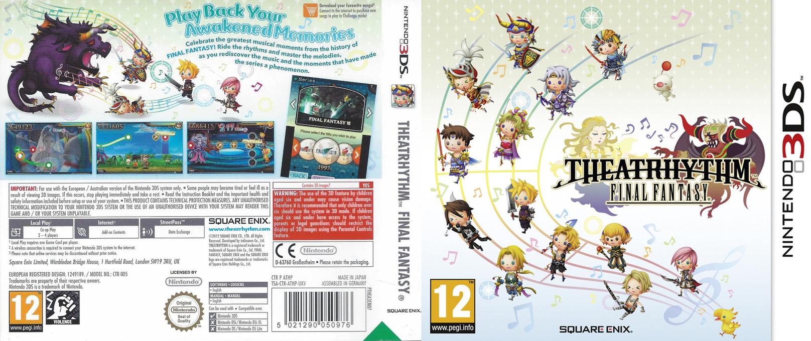 Theatrhythm Final Fantasy 3DS coverfullHQ (ATHP)