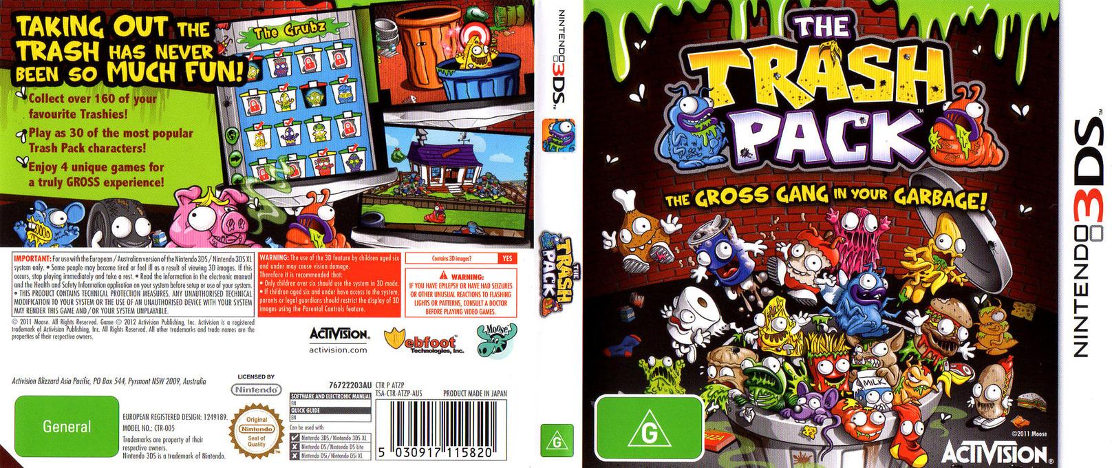 The Trash Pack 3DS coverfullHQ (ATZP)