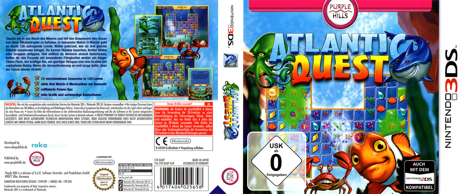 Atlantic Quest 3DS coverfullHQ (BAQP)