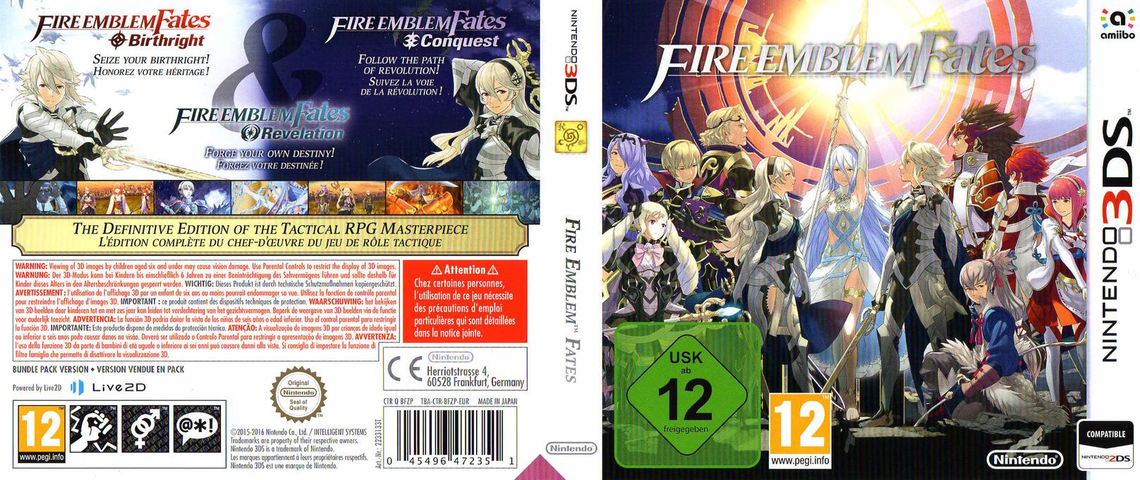 Fire Emblem Fates 3DS coverfullHQ (BFZP)