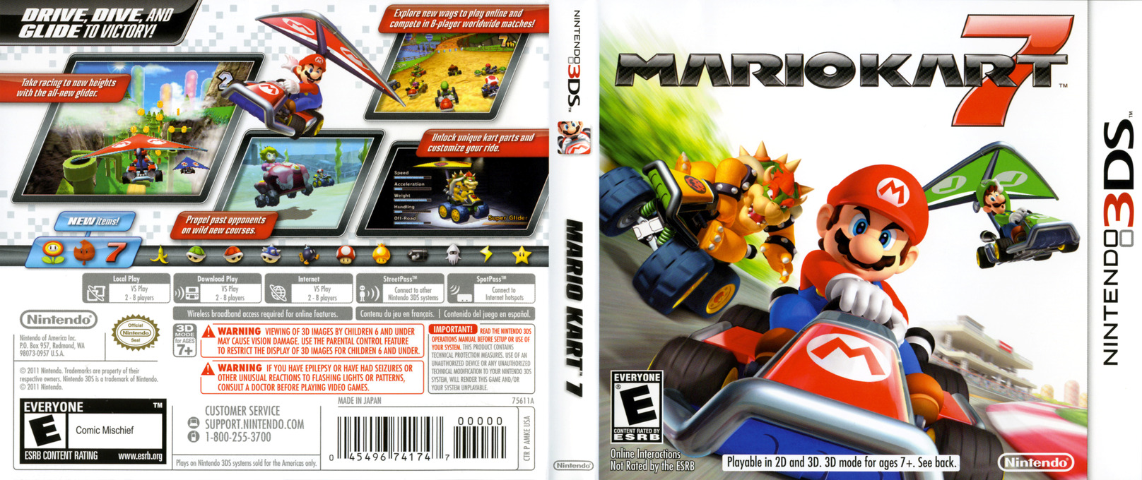 amke mario kart 7. Black Bedroom Furniture Sets. Home Design Ideas