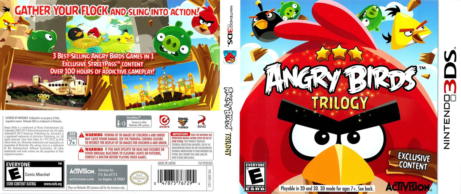 Angry Birds Trilogy 3DS coverfullHQ (ANGE)
