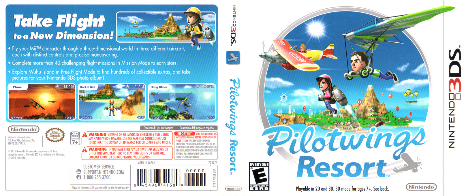Pilotwings Resort 3DS coverfullHQ (AWAE)