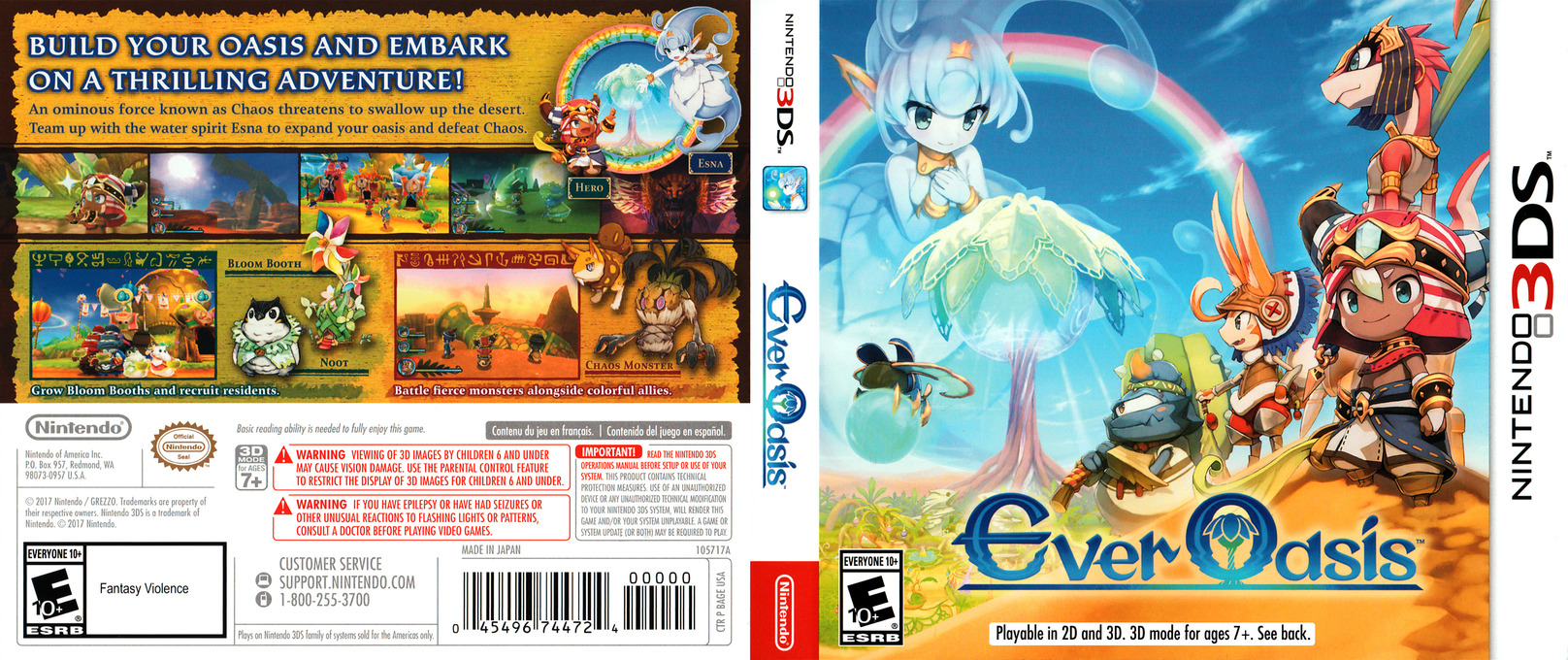 Ever Oasis 3DS coverfullHQ (BAGE)