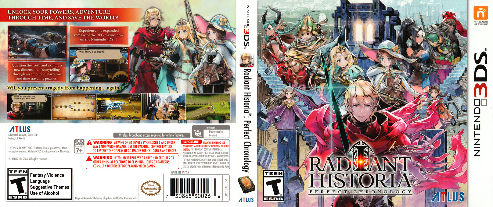 Radiant Historia Perfect Chronology 3DS coverfullHQ (BRBE)